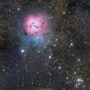 M20 Trifid Nebula,                                Girish