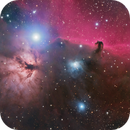 NGC2024 Flame Nebula and B33 Horsehead Nebula in RGB,                                Kayron Mercieca
