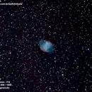 M27 - Dumbell Planetary Nebula,                                Victor Brasil Sabbagh