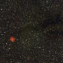 Cocoon nebula C19/Ced198/Cr470/IC5146/LBN424/Sh2-125 widefield including B168 (c),                                Ram Samudrala