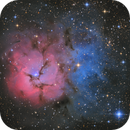 M20 - Trifid Nebula,                                Martin Junius