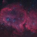 IC 1848 - The Soul Nebula HaRGB,                                Oliver Czernetz