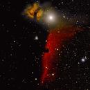 Pferdekopf- und Flammen Nebel,                                Peter Schmitz