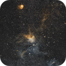 IC417 & NGC1931 - The Spider and the Fly in HST Palette,                                Kirk