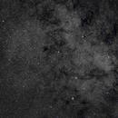 NGC6520 Open Cluster and B86 Dark Nebula in Sagittarius,                                Jan Curtis