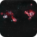 NGC 2014 / NGC 1955 / NGC 1935 & Co. - HHOO,                                Claudio Ulloa Saavedra