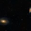 Bode's Galaxy (M81) and  Cigar Galaxy (M82),                                Rohit Belapurkar