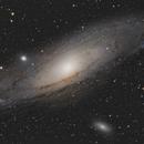 M 31 - Andromeda Galaxy,                                Maël BORDERIE