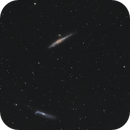Whale and Hockey Stick Galaxies,                                Elmiko