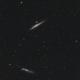 Whale and Hockey Stick Galaxies,                                Elmiko