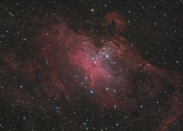 Eagle nebula HaLRGB,                                lucky_s