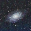Triangulum Galaxy - 60s subs,                                Aaron Freimark