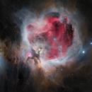 M42 Orion Nebula in 30 min RGB - HaRGB,                                Wissam Ayoub