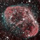 NGC 6888 - HOO,                                Rich Sky