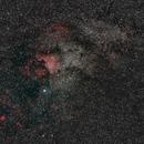 Nebulose nel Cigno,                                Giorgio Viavattene