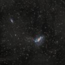 NGC 2146 , 2146 A - IFN and tidal stars strims,                                Vadim Kozatchenko