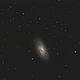 M64 Black Eye Galaxy,                                ScottBrabec
