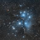 M45 The Pleiades @ 400mm,                                Jan Schubert