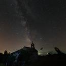 Milky Way above the church,                                Miroslav Horvat
