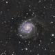 Pinwheel Galaxy M101,                                upizdown