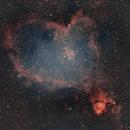 The Heart Nebula - IC1805,                                bclary