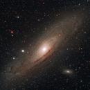 M31 - Andromeda galaxy,                                Sagittarius_a