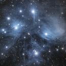 Reflection Nebulae Around The Pleiades ,                                Alex Roberts