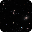 Virgo Cluster core - M87 and Markarian's Chain,                                Paul Ricker