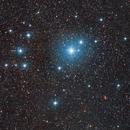 Southern Pleiades - IC 2602 - 2 Panel Mosaic :-),                                Daniel Nobre