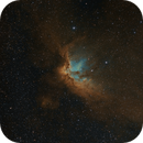 The Wizard Nebula NGC 7380 in SHO,                                Chris