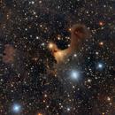 Sh2 136 Ghost Nebula or VDB 141 from Deep Sky West,                                jerryyyyy