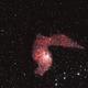 IC 405 the Flaming Star Nebula,                                RonAdams
