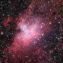 M16 Eagle Nebula,                                Ali Alhawas