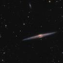 NGC 4565 überarbeitet,                                Mario Richter