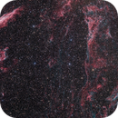 Veil Nebula from Spruce Knob, WV (3 Panel Mosaic),                                Jeff Ball