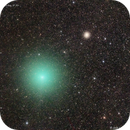Comet 252P and M14 on the Milky Way,                                José J. Chambó