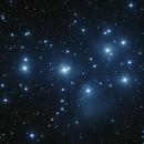 M45 - Plejades,                                Simon