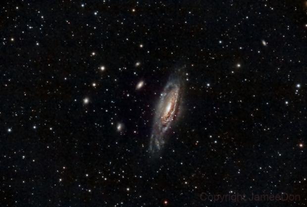 NGC 7331,                                Jamee Donithan