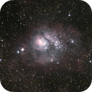 M8 - The Lagoon Nebula,                                Taylor Mynhier