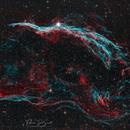 NGC 6960 - Western Veil Nebula HOO,                                FedericoDS
