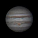 Jupiter 5 Dec 2013 (x3 Barlow),                                Geof Lewis