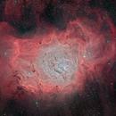 Lagoon Nebula,                                Scott Tucker