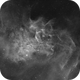IC405-Flaming Star Nebula,                                samlising
