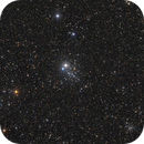 NGC 457 - E.T cluster,                                Brice