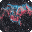 NGC 6992, The Eastern Veil in HOO,                                Scott
