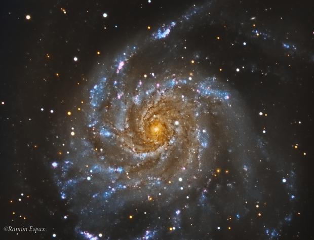 M101 - LRGB,                                RAMON ESPAX