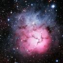 M20 - Trifid Nebula,                                normmalin