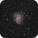 The Fireworks Galaxy and NGC 6939,                                Shannon Calvert