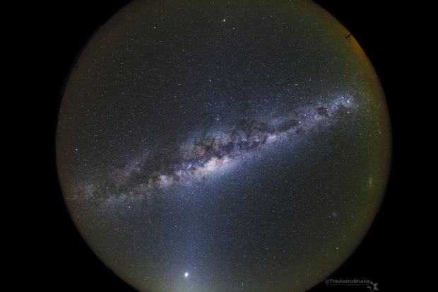 Zodical light and the Southern Hemisphere Night Sky,                                Cory Schmitz