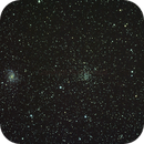 NGC6946 The Fireworks Galaxy with Open Cluster NGC6939,                                Rod Norris